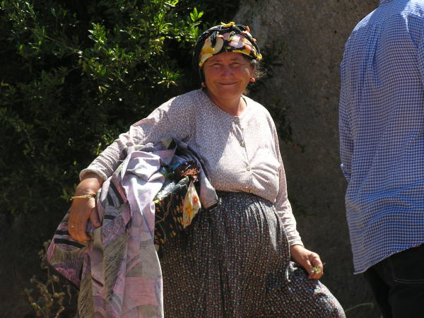 Sweet ladies met us at each landing with a basket of handiwork. Mediterranean Coast, Turkey: chapter 59, You must only to love them. http://mershon.wordpress.com