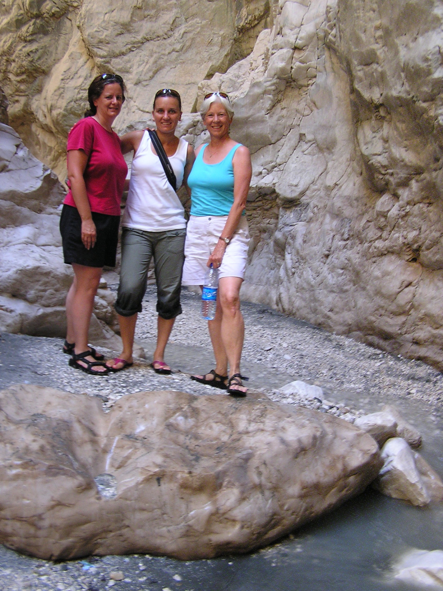 Shelly, Jana and I hiked up the stunning Saklikent Gorge, which was all marble. Fetihye, Turkey: chapter 60, You must only to love them. http://mershon.wordpress.com