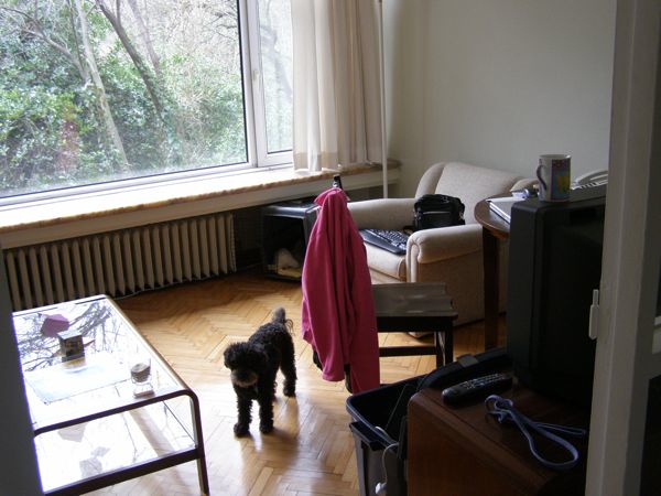 Libby and I settle in to our tiny new campus apartment. Istanbul, Turkey: chapter 63, You must only to love them. http://mershon.wordpress.com