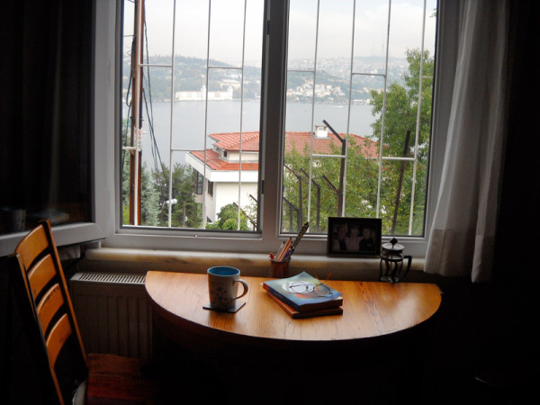 I loved my little off-campus apartment with a view overlooking the Bosphorous. Istanbul, Turkey: chapter 70, You must only to love them. http://mershon.wordpress.com