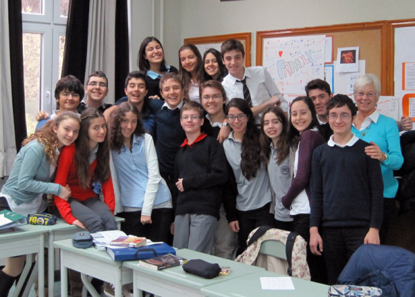 "Little did I know how much I'd come to love my Lise Prep kids.  It's true that ""you must only to love them."" Istanbul, Turkey: chapter 71, You must only to love them. http://mershon.wordpress.com"