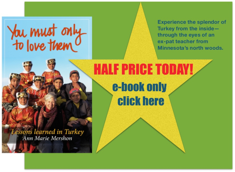SALE! July 11th 1/2 price—You must only to love them, Amazon.com, annmariemershon.com