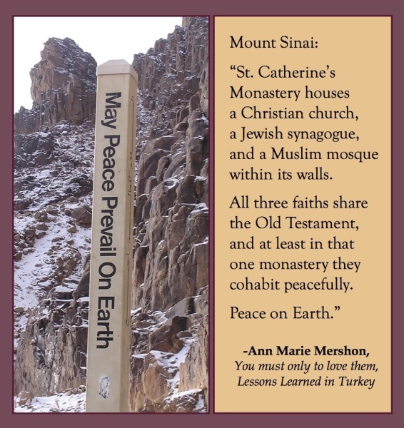 Peace on Earth, Sinai, EGYPT, You must only to love them, https://www.amazon.com/You-must-only-love-them-ebook/dp/B01DFUGIEI