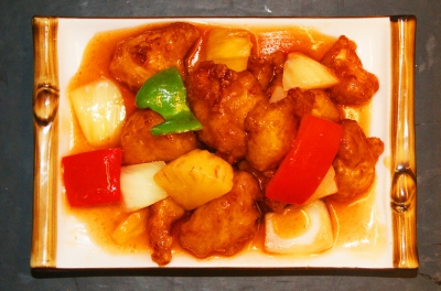 Sweet & Sour Chicken Hong Kong Style