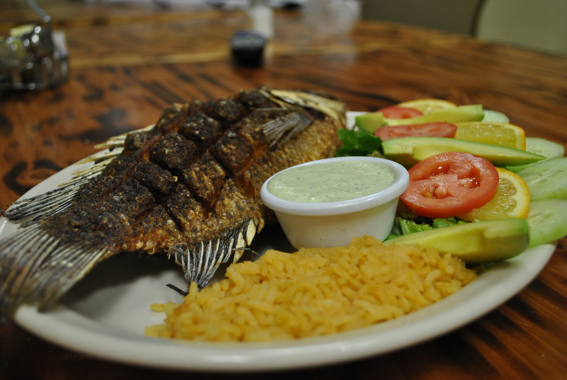 tilapia, crispy fried, Idaho Falls mexican