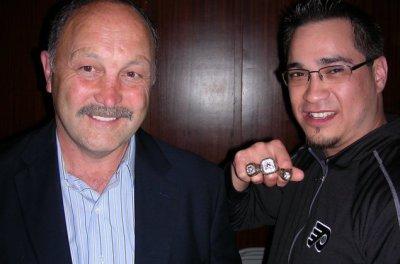 Bryan Trottier: NY Islanders, Pittsburg Penguins, Colorado Avalanche Allumni.