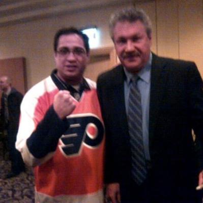 "Dave ""The Hammer"" Schultz : Philadelphia Flyers Allumni"