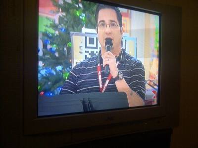 On Global News Regina for Salvation Army Kettle Drive.