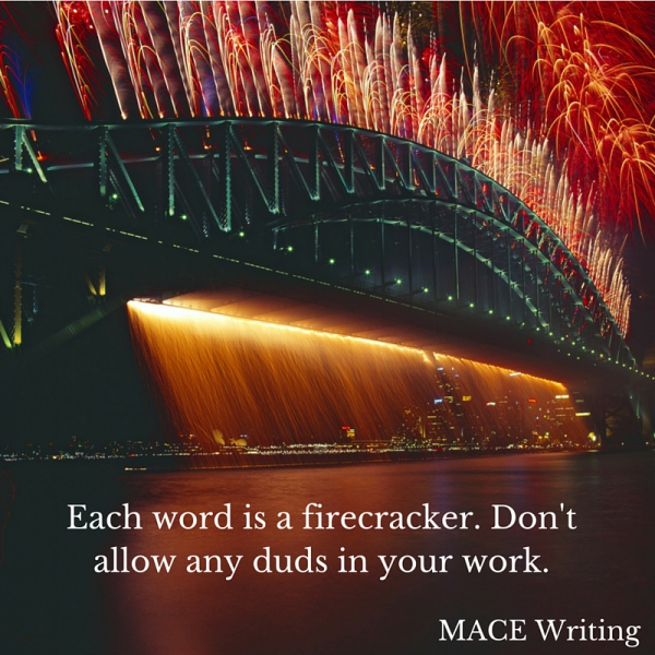 Writing-Tips-Every-Word-Is-a-Firecracker