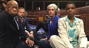 Democratic Sit In to Address Gun Violence: #NoBillNoBreak #NoFlyNoBuy