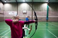 Shropshire archery club in Cleobury Mortimer.