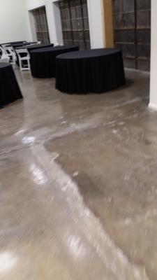 Large event area