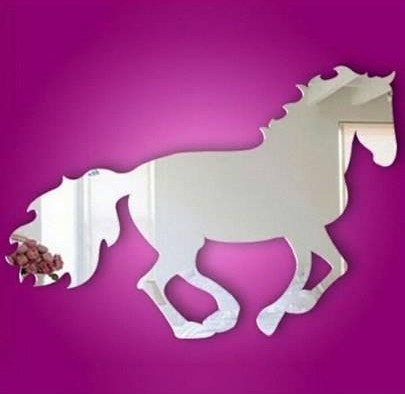 Galloping Horse Sticker (DIY MIRROR)