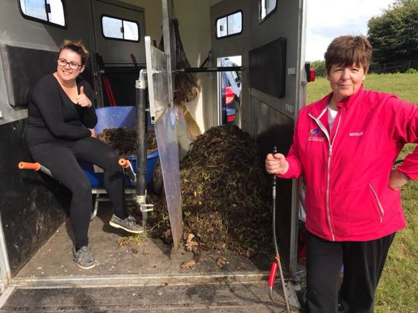 Yard Assistant Bernie and Welfare Officer Rebecca