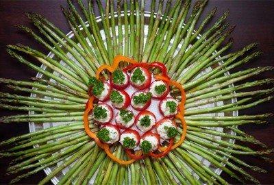 Asparagus Mandala