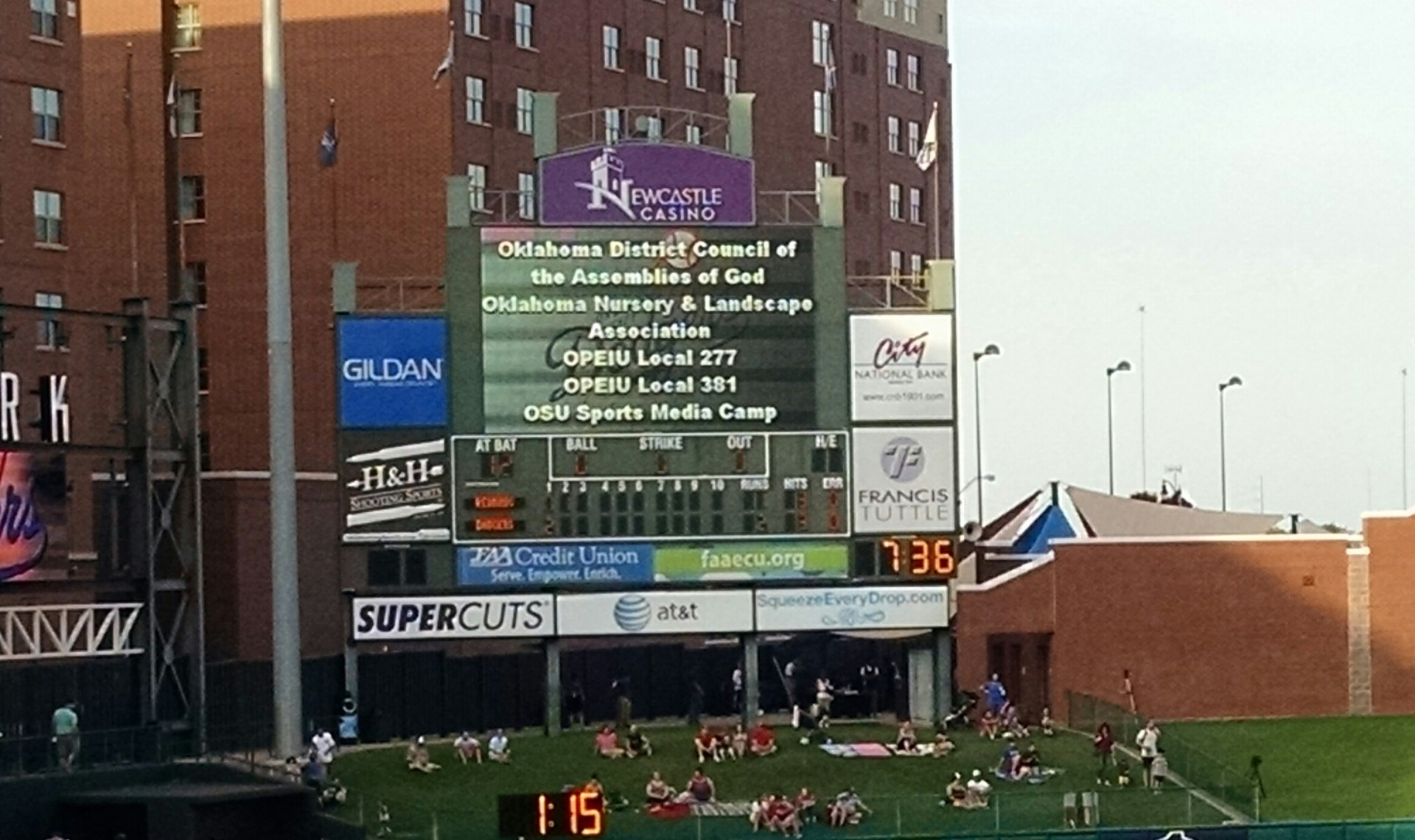 June 2015: OKC Dodgers Baseball Game