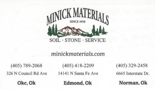 Minick Materials