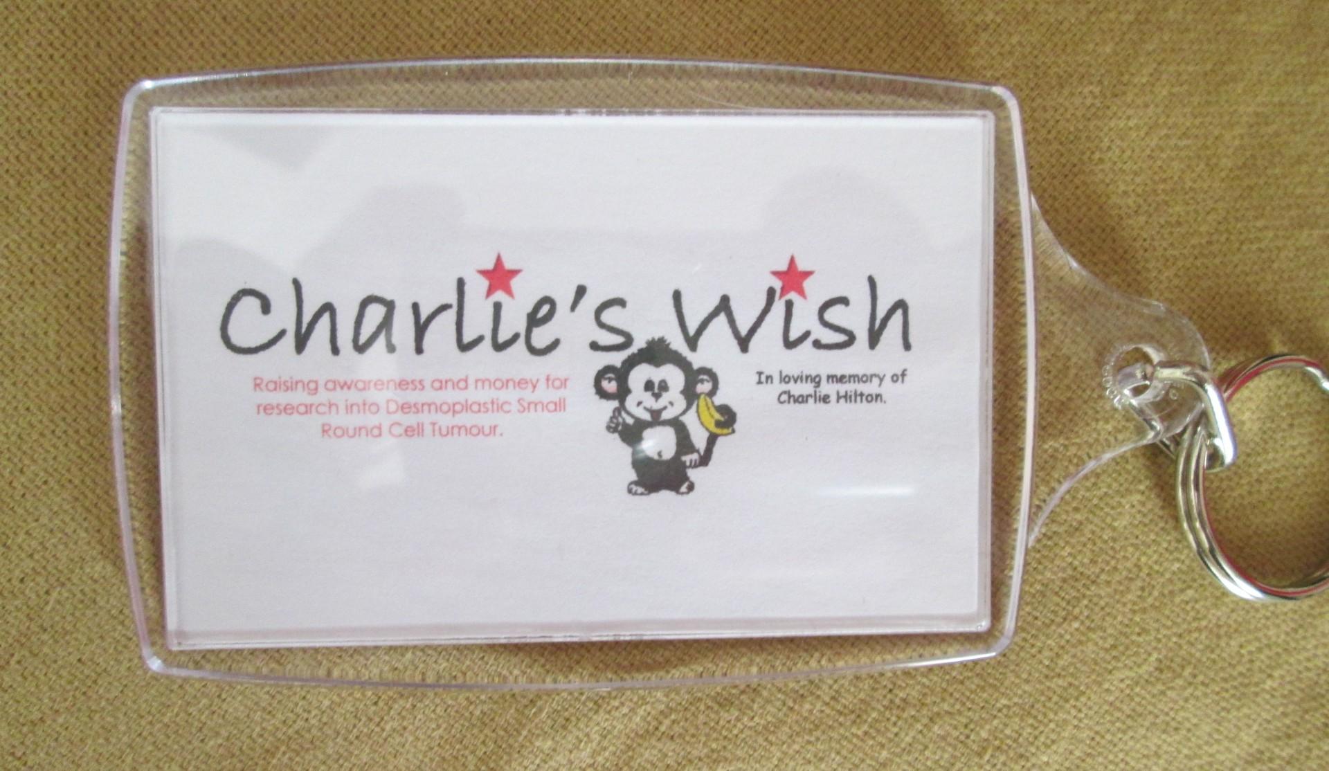 Charlie's Wish Keychain