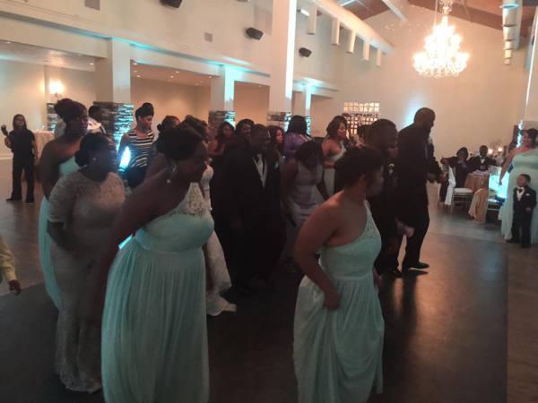 Dancing the night away at #theMcGowenWedding