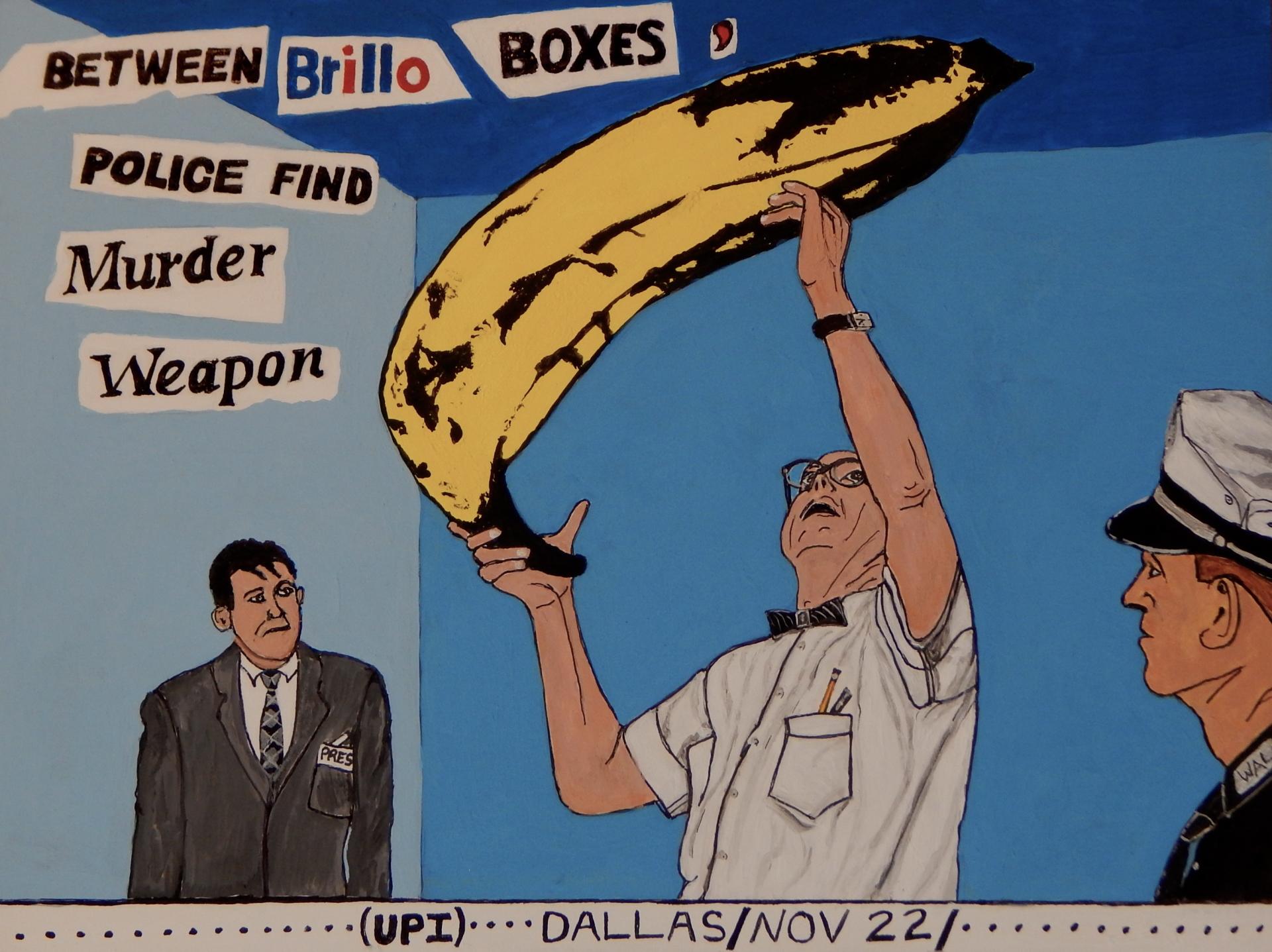 Warhol, Oswald, JFK assassination