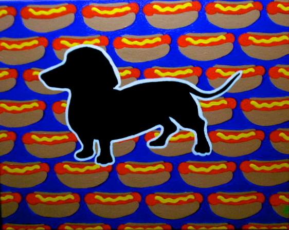 Dachsund, hotdog