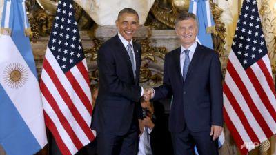 President Obama and Argentina's President Macri