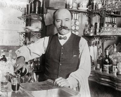 Bartender Circa 1920's