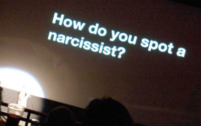 NARCISSISM:  Signs to look for
