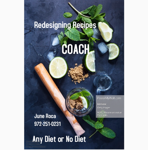 REDESIGNING RECIPES