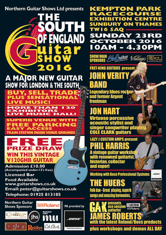 South of England Guitar Show