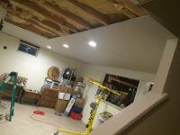 Basement Renovation, Drywall Installation, Drywall repair, Painting, Lighting, Lamps Installation, Ceiling Installation, Door Installation