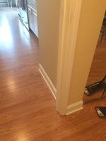 Laminate Floor Installation, Molding Installation