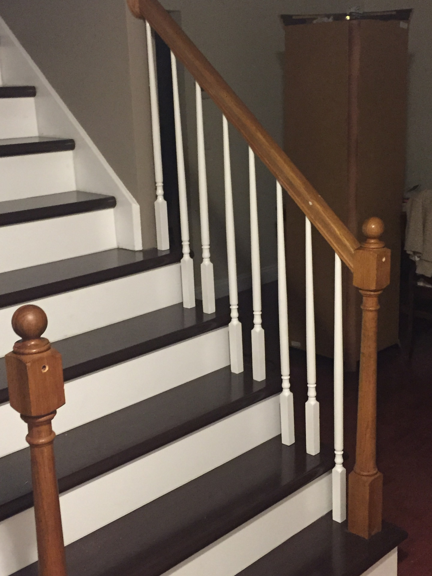 Install balusters