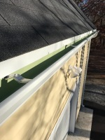 removed and dispose aluminum gutters Millis