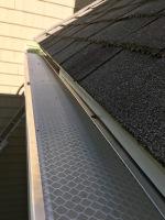installed gutter cover in Wrentham