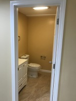 installed sink and toilet in basement in Rehoboth