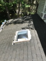 removed mold from the roof and siding in Ashland