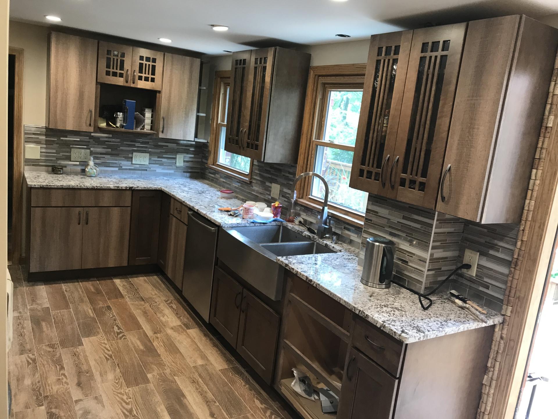major kitchen remodeling, major kitchen renovation, kitchen cabinets replacement