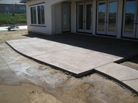 Custom design concrete