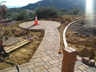 Paver walkways and drives