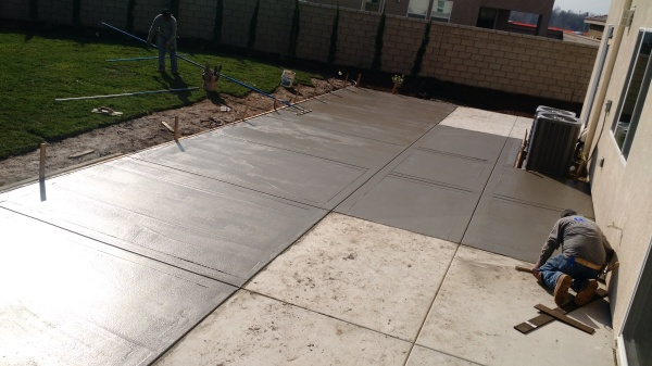 Concrete to fit all size yards
