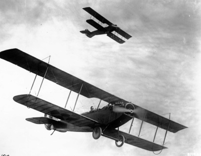 Airplanes on the Western Front