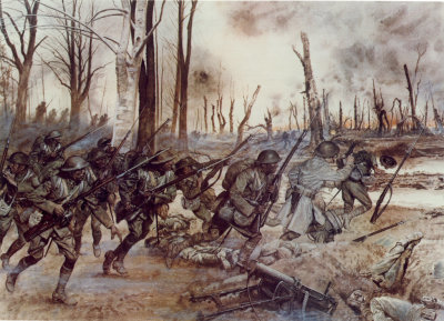 """""""Black Death"""" and the """"Harlem Hellfighters"""""""