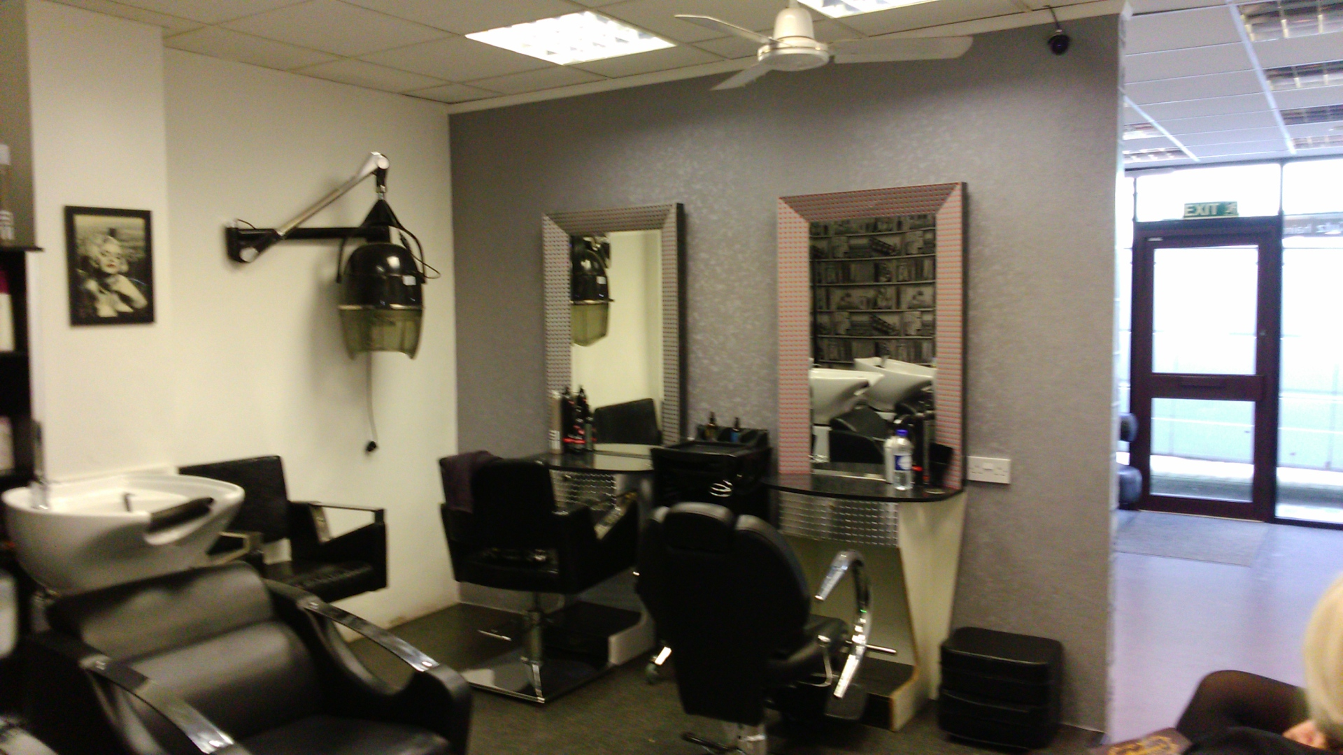 salon, chairs, hairdressing,