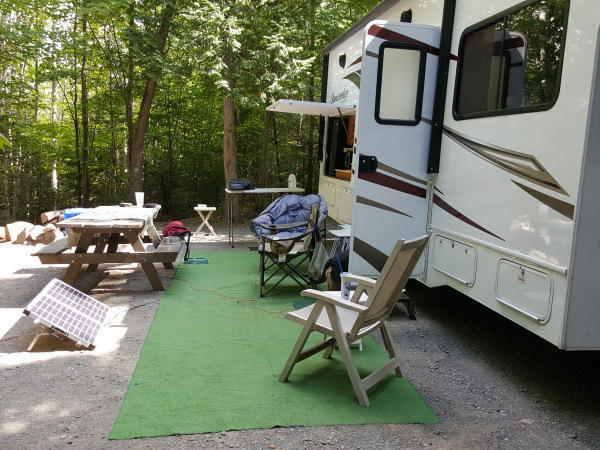Visit Lily Bay State Park on Moosehead Lake-largest lake in Maine