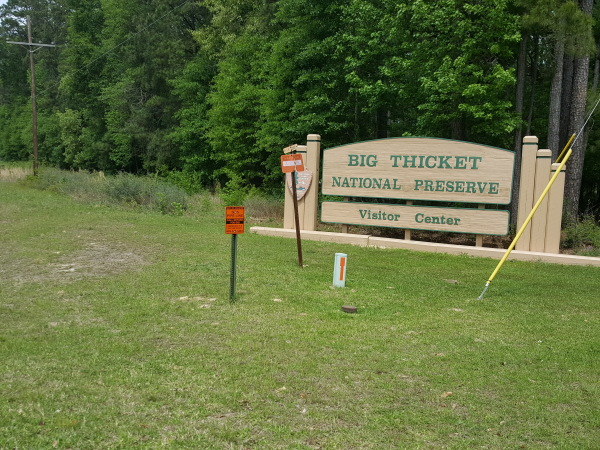 Big Thicket, the land of contrasts