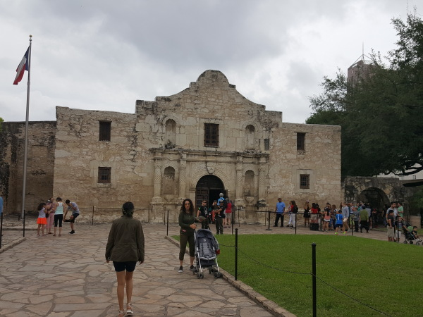 The Alamo, the shrine to Texas revolution