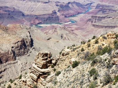 The Grand Canyon National Park, affectionaly know as the big ditch