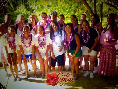 GV in O'ahu, Hawaii at PCC