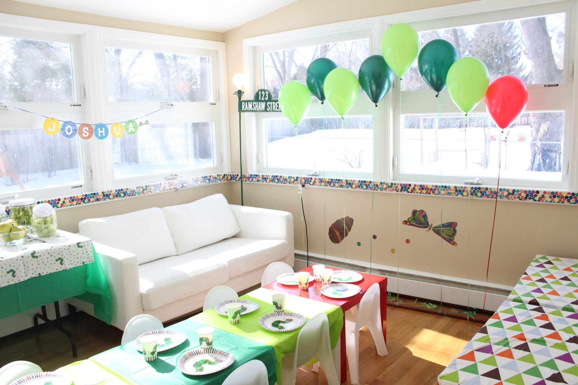 Book-Themed Birthdays
